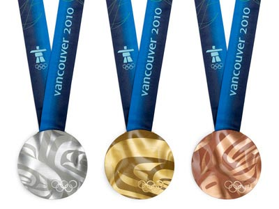 Vancouver 2010 Winter Olympics Medals