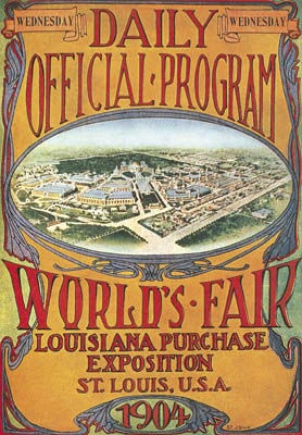 St. Louis 1904 Olympic Poster