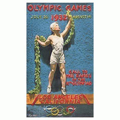 Los Angeles 1932 Olympic Poster