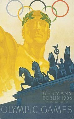 Berlin 1936 Olympic Poster