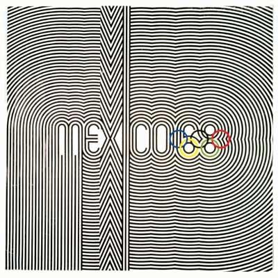 Mexico 1968 Olympic Poster