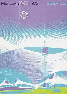 Munich 1972 Olympic Poster