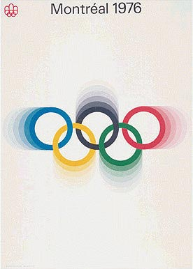 Montreal 1976 Olympic Poster