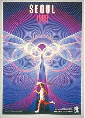 Seoul 1988 Olympic Poster