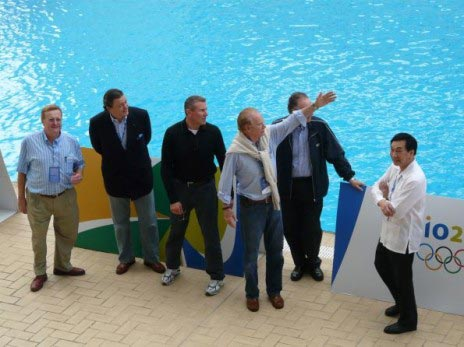 国际奥委会委员吴经国前往巴西里约热内卢考察奥运会筹备