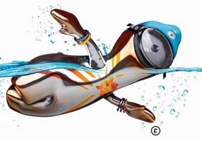 伦敦奥运会 吉祥物 文洛克