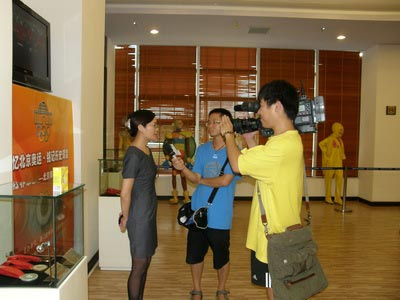 Xiamen TV Come to Interview XOM